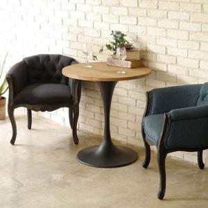 ダイニングテーブル テーブル カフェテーブル 丸 幅70cm 木製 北欧 3010テーブル|potarico|03