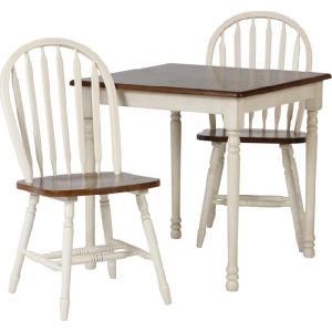 アンティーク ダイニングテーブルセット 正方形テーブルおしゃれ インテリア ダイニングテーブル うちカフェ テーブル マキアートダイニング3点セット|potarico