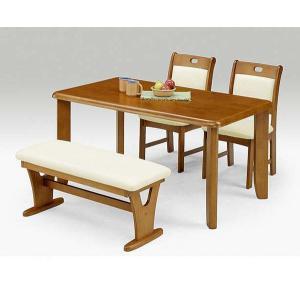 ダイニングテーブルセット ベンチ 4人用 4点セット|potarico