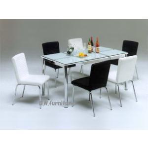 ダイニングセット 7点/6人掛け ガラスダイニングテーブル Nフレスコ150DT Y-802-tm|potarico