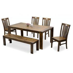 ダイニングテーブルセット ベンチタイプ|potarico
