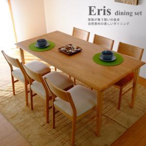 ダイニングテーブルセット 7点 木製 北欧スタイル ナチュラル エリー ダイニング7点セット|potarico