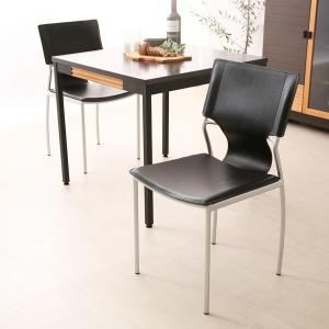完成品 PVCレザーを使用し、高級感を感じさせるダイニングチェアー 椅子 いす イス チェアー C-2307 ダイニングチェア-gt|potarico|02