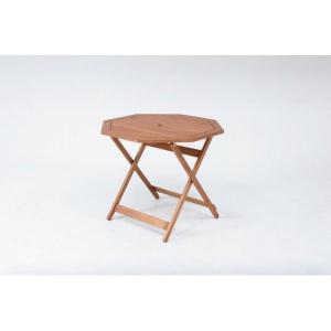 折りたたみ式 ガーデン テーブル 八角テーブル|potarico