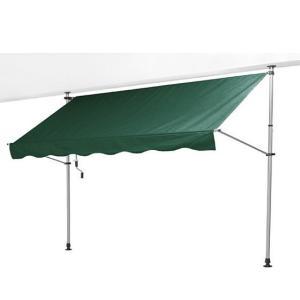 サンシェード オーニング つっぱり ベランダ 日よけスクリーン テント|potarico