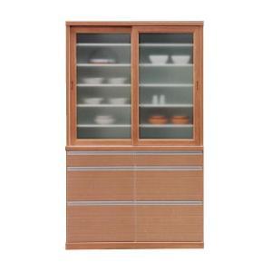 食器棚 人気 引き戸 120|potarico