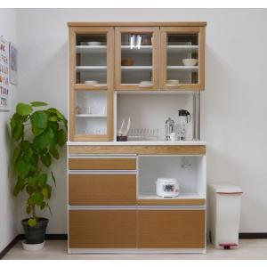 食器棚 人気 レンジ台 レンジボード 両面ハッチ おしゃれ キッチン収納 対面キッチン|potarico