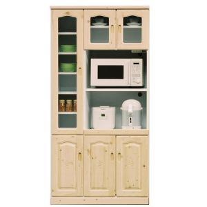 食器棚 ガラス食器棚 戸棚 キッチン収納  レンジ台  人気 完成品 potarico