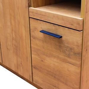 食器棚 完成品 食器棚105 キッチンボード 収納棚 おしゃれ ネイツ105KB potarico 03