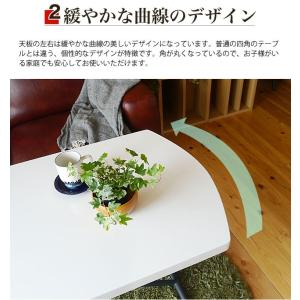 リフトテーブル リフティングテーブル 昇降テーブル 白 ホワイト 幅120cm 北欧 おしゃれ NEWルーシー120リフトテーブル potarico 05