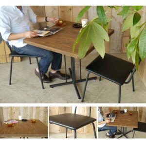 ケルト ダイニングセット ダイニングテーブルセット 3点 カフェテーブル チェア アンティーク 北欧  KELT|potarico|02
