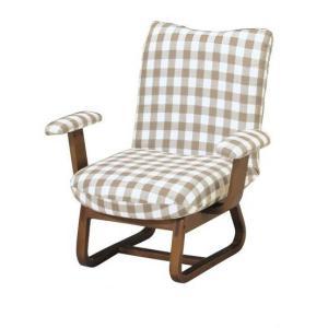 座椅子 リクライニング 座いす  おしゃれ 可愛い 座椅子 人気 REC-16 リクライニングチェア|potarico