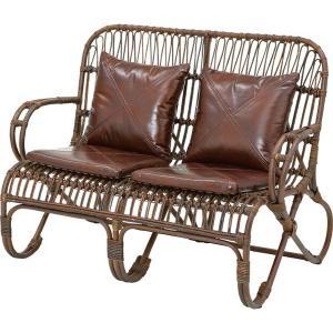 ラタンソファー sofa 2人掛け |potarico
