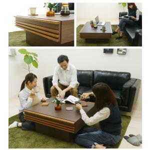 センターテーブル テーブル 木製 おしゃれ 正方形 カーノセンターテーブル|potarico|02