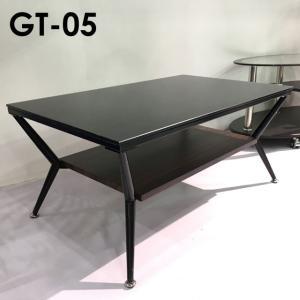 ガラステーブル リビングテーブル 長方形 GT-05 80ガラステーブル|potarico