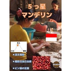 5つ星マンデリンG1 300g|potiercoffee