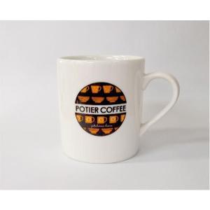 マグカップ(ロゴ) M|potiercoffee