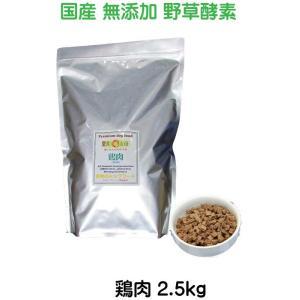 小麦アレルギーの愛犬へ 【愛犬ワンダフル】 お米のドッグフード 鶏肉タイプ 2.5kg  ナチュラル ドッグフード (犬用全年齢対応)|potitamaya-y