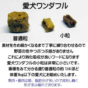 【愛犬ワンダフル】 鹿肉タイプ  4.9kgパック (小粒も選べます)  ナチュラル ドッグフード (犬用全年齢対応)|potitamaya-y|05