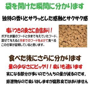 【愛犬ワンダフル】 鶏肉タイプ  200g  (小粒も選べます) ナチュラル ドッグフード (犬用全年齢対応)|potitamaya-y|03