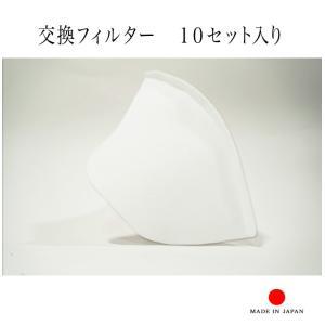 マスク用 不織布フィルター 10枚入り 布マスク用のオプション商品です。(マスク本体は別売りです。)