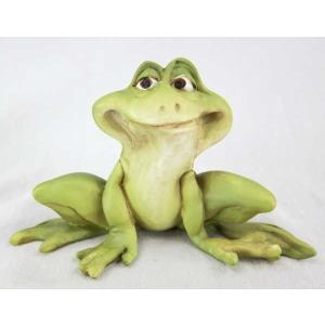蛙 かえる カエル 置き物 オブジェ ぴょん蛙 30%引き アウトレット。 ・サイズ:幅11cm×高...