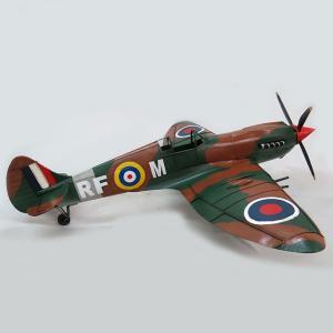 飛行機模型 スーパーマリン スピットファイア 戦闘機 ブリキ飛行機 置き物 オブジェ ・サイズ:長さ...