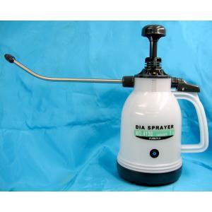 ガーデニング用噴霧器ダイヤスプレーNo.4130 ロングノズルシースルー 容量1L用 ノズルパイプ25cm potos
