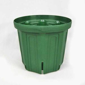 植木鉢・プラスチック鉢(スリットポット)6号(10個1組)