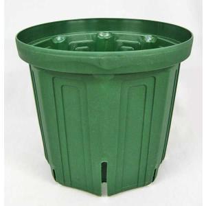 植木鉢・プラスチック鉢(スリットポット)8号(3個1組)