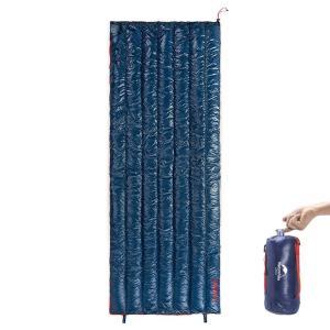 Naturehike 1人用 高級ダウン寝袋 570g/790g超軽量 封筒型 オールシーズン 防水...