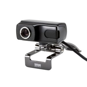 サンワサプライ WEBカメラ Full HD対応500万画素 マイク内蔵 Skype対応 CMS-V...
