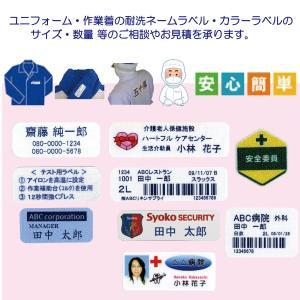 介護お名前シール N-34-B(20mm×50mm) 名前+電話 印刷タイプ≪耐洗ネームラベル:30枚セット≫|pourvous2|06