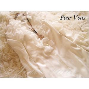 結婚式 パーティードレス ワンピース 長袖 フォーマル ドレス 清楚なAライン 花柄 セレブ白 590|pourvous777