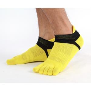 ソックス 靴下 3足 セット スポーツソックス 5本指 ランニング トレーニング ジム おしゃれ povstore 03
