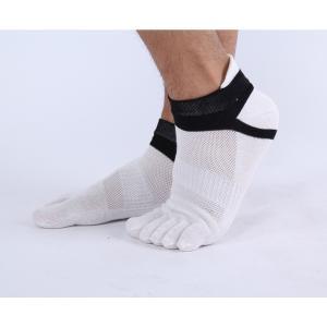 ソックス 靴下 3足 セット スポーツソックス 5本指 ランニング トレーニング ジム おしゃれ povstore 05