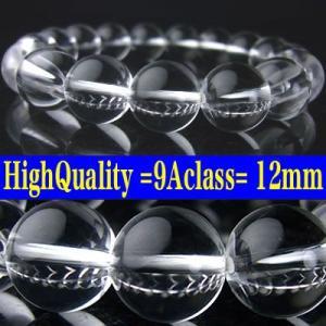 天然本水晶/最高級9A級/パワーストーンブレスレット/迫力の12mm大玉|power-house-again