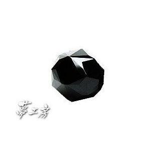 ブラックスピネル8mm玉/特殊加工スターカット/天然石 パワーストーン/ばら売り power-house-again