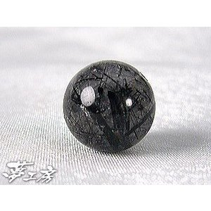 13mm玉ブラックルチルクオーツ=7A級=ばら売り・1玉売り=天然石パワーストーンブレスレット製作に♪ power-house-again
