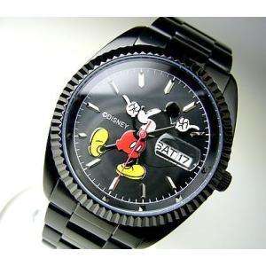 ★完売御礼★MICKEY MOUSEミッキーマウス腕時計ブラック限定モデル【disney_y】正規品 power-house-again