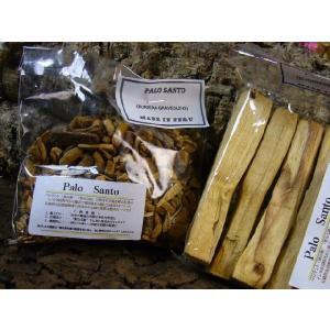 甘く爽やかな芳香を放つパロ・サントの原木チップ(1袋 75グラム売り)|power-house-again