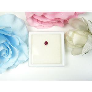 ビルマ産ルビー 天然宝石ルース  7月の誕生石でもあるルビー 石言葉:情熱・仁愛・威厳  可愛いらし...