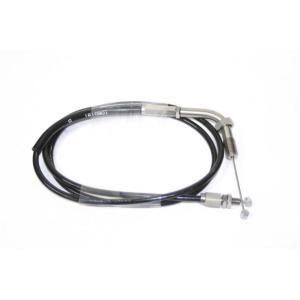 ACTIVE アクティブ TMR用 スロットルワイヤー ステン金具/アウターブラック 1050mm