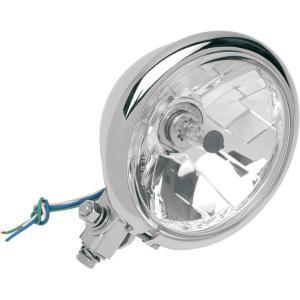5.75インチ クロームヘッドライト 2001-0099 power-toys