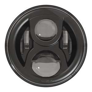 ☆7インチ LEDヘッドライト BK   マウントキット付  2001-1277|power-toys