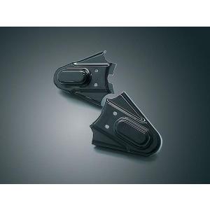 ☆リアフレーム ファントムカバー 86〜07年ソフテイルモデル ブラック 8202|power-toys