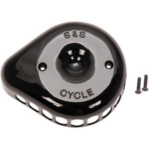 S&S ミニティアドロップタイプカバー  グロスブラック 170-0366|power-toys