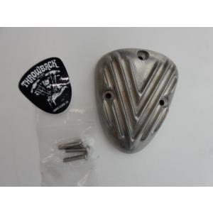 ◆ハーレー エアクリーナーカバー リブタイプ S&Sキャブ E/Gキャブレター用 スローバック|power-toys