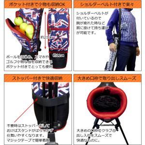セルフスタンドバッグ ゴルフ セルフプレーにおススメ 豊富なデザイン 全72デザイン AZROFアズロフセルフスタンドバッグ|powerbilt|04