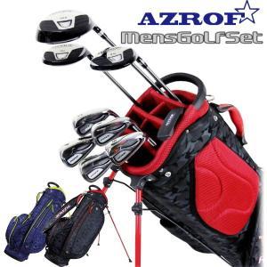ゴルフセット メンズ 初心者 3点セット AZROF AZ-MSET01 powerbilt